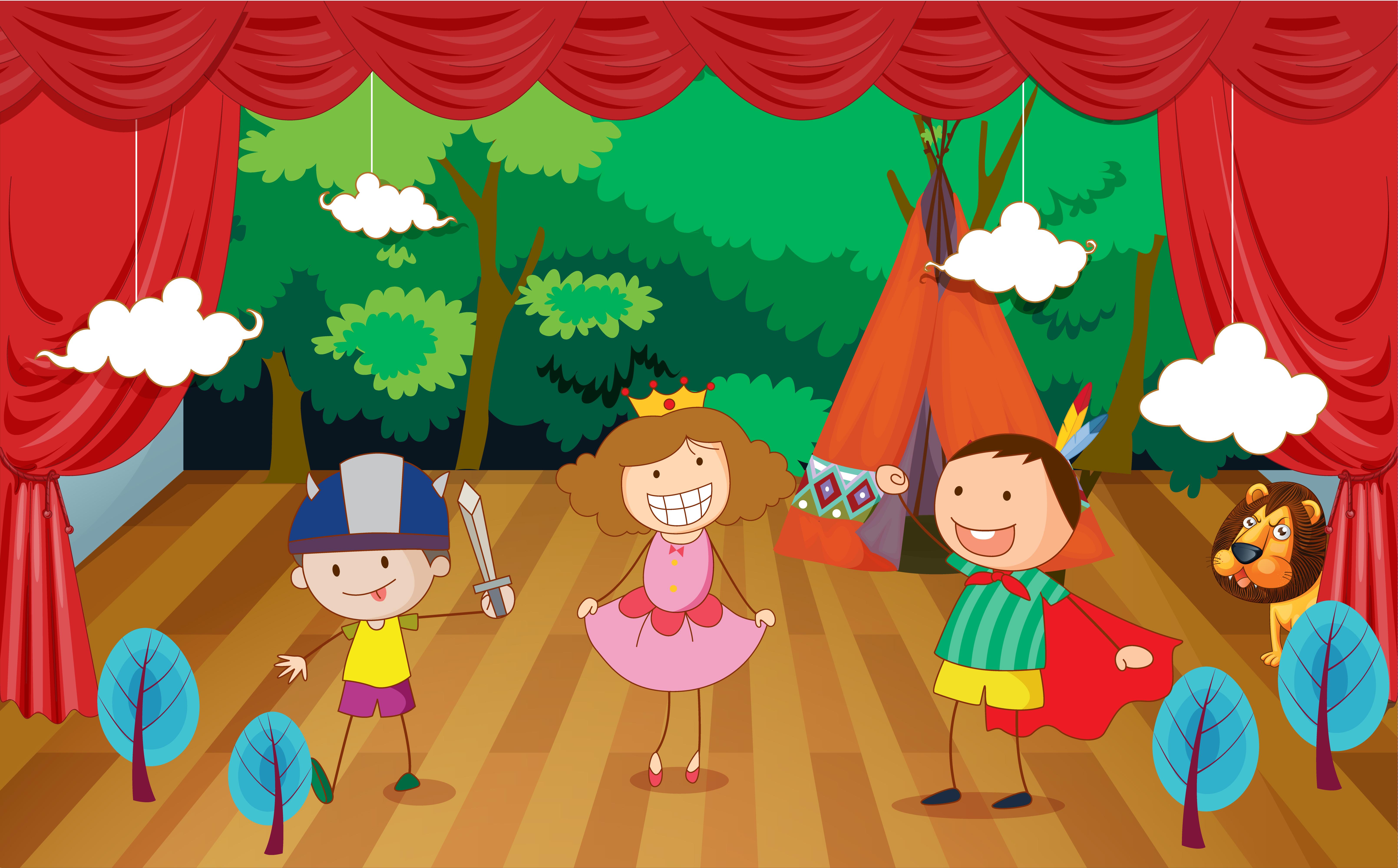 Картинки о театре для детей дошкольного возраста